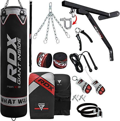RDX 17 teiliges Sandsack Set mit Wandhalterung Kickboxen MMA Muay Thai Boxen  Abbildung 2