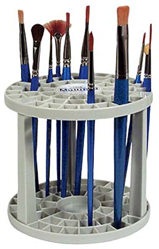 Loew-Cornell 390 Multi Bin Brush Organizer, 49 Hole
