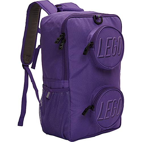LEGO Brick Backpack Purple One Size