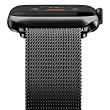 WASPO Compatible for Apple Watch Band 38/40/42/44mm, Stainless Steel Mesh Loop for iWatch