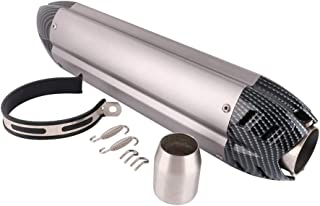comprar comparacion Silenciador de Escape para Motocicleta - Tubo de Escape de Entrada Universal de 1.5-2