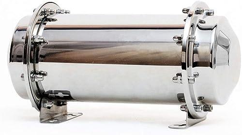 Fcyylight Edelstahl Zeitkapsel Wasserdichter Beh er Haltbarer Verschlussbeh er Lagerung Zukünftiges Geschenk 20 Zoll