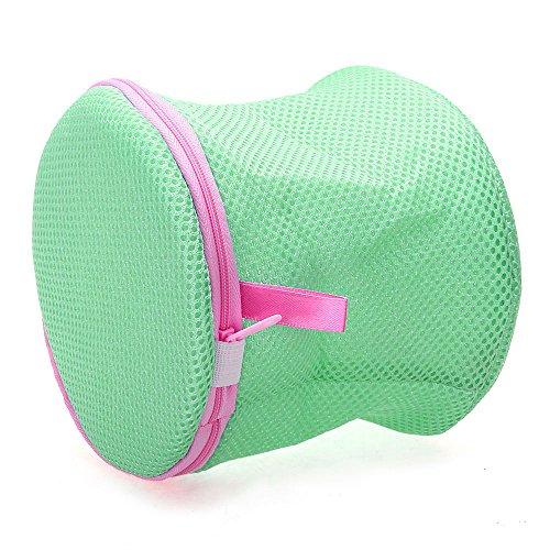 Foxpic Washing Bra bag Laundry Underwear lingerie mesh Wash Protecter verde
