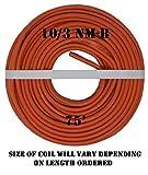 10/3 NM-B x 75' Non-Metallic Electrical Cable