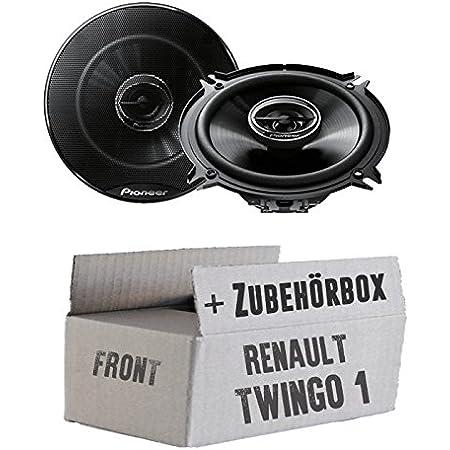 Lautsprecher 13cm Tür Front Pioneer Ts G1320f Einbauset Für Renault Twingo 1 Facelift Just Sound Best Choice For Caraudio Navigation