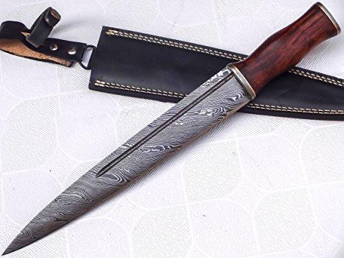 REG-212, Custom Handmade Damascus Steel Scottish Dirk Blade Knife