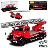 Ixo IFA S4000 Drehleiter DL Feuerwehr DDR 1958-1967 1/43 Modell Auto