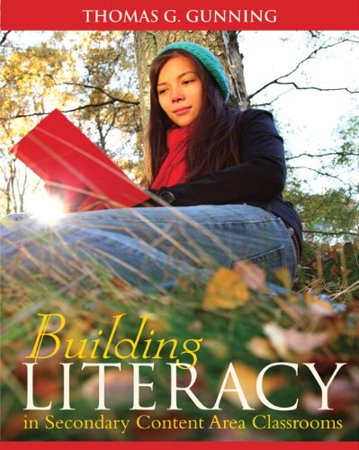 Compare Textbook Prices for Building Literacy in Secondary Content Area Classrooms 1 Edition ISBN 9780205580811 by Gunning, Thomas G.