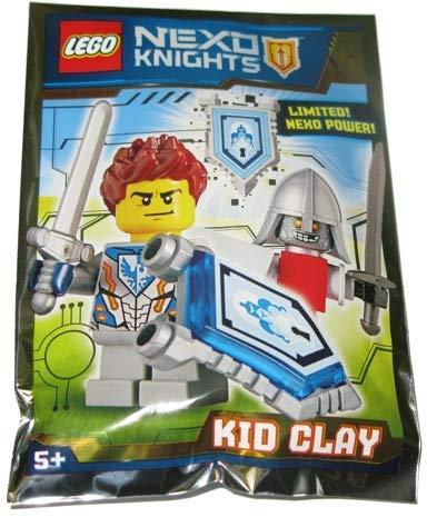 LEGO Nexo 271608 - Juego de papel de arcilla para niños