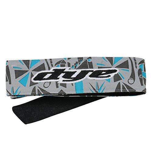 DYE Stirnband Head Tie, Grau/Blau, Onesize