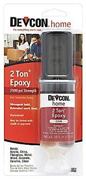 Devcon 31345 2 Ton Clear Epoxy 25 ml
