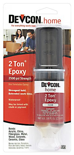 Devcon 31345 2 Ton Clear Epoxy, 25 ml