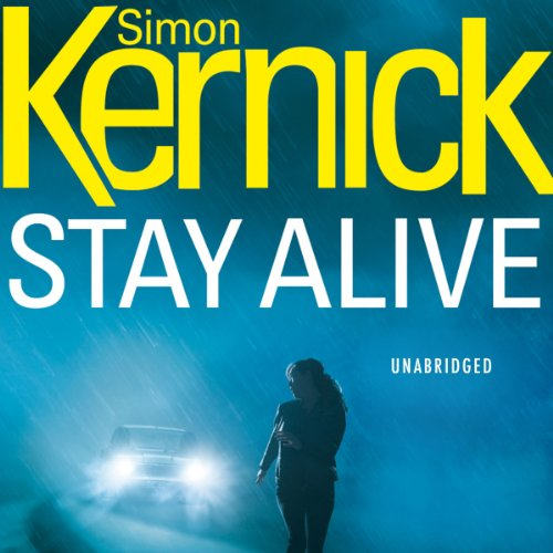 Stay Alive audiobook cover art
