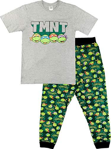 Herren-Schlafanzug-Set, offizielles Design, Größe S-XL Gr. M, Teenage Mutant Ninja Turtles
