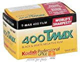 Kodak Professional T-MAX 400 Film, ISO 400, 36-pic, 1 Pack - Película fotográfica a Color (ISO 400, 36-pic, 1 Pack)