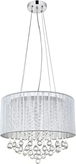 Best grey light shade with crystals Reviews