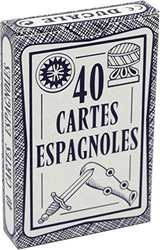 Jeu de 40 cartes : Ducale Espagnoles