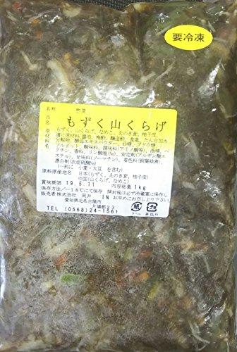 味付け もずく 山くらげ 1kg×12P 業務用 売れすじ商品 冷凍