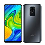 "Redmi Note 9 Smartphone 3GB 64GB Quad Hotshot da 48 MP 6.53""FHD+ DotDisplay 5020 mAh 3.5mm headphone jack Nero"
