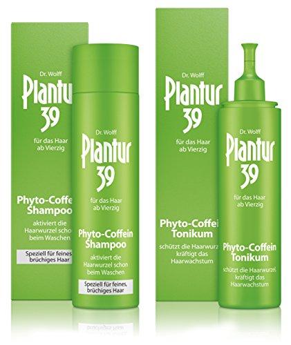 Plantur 39 Phyto-Coffein-Shampoo feines Haar 250 ml + Phyto-Coffein-Tonikum 200 ml