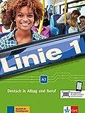 Linie 1 a2, libro del alumno y libro de ejercicios + dvd-rom: Deutsch in Alltag und Beruf