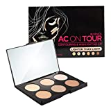 Australis AC on Tour Contour Highlight Palette Kit Makeup - Lighter Than Light