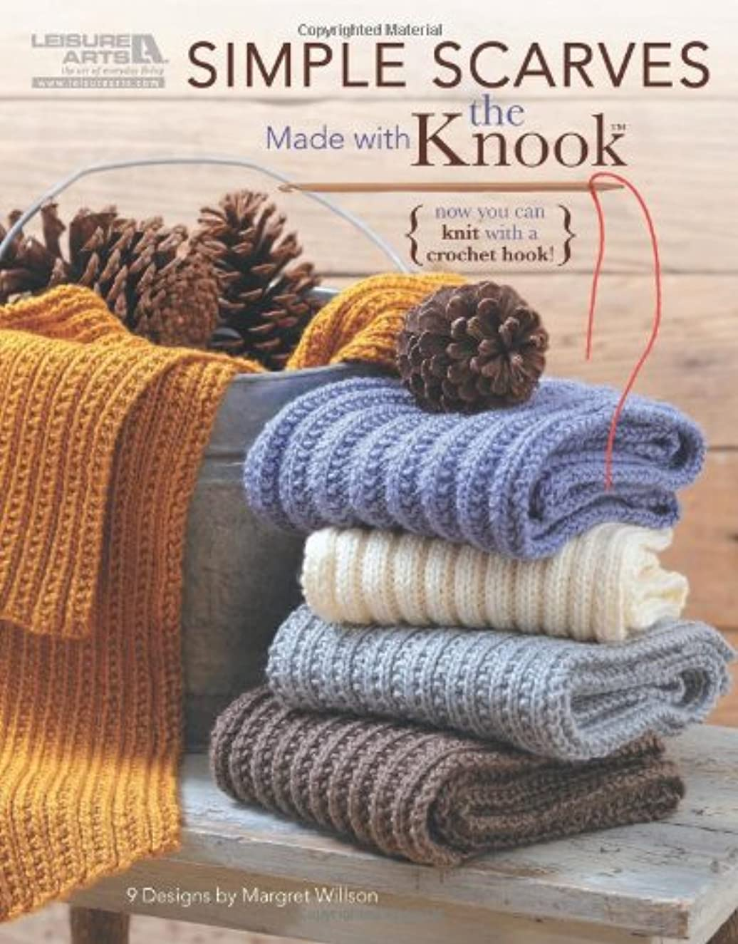 Simple Scarves Made with the Knook (Leisure Arts #5779)
