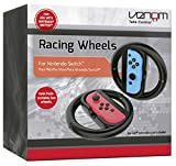 Venom - Set de 2 Volantes Switch Racing Wheels Venom (Nintendo Switch)