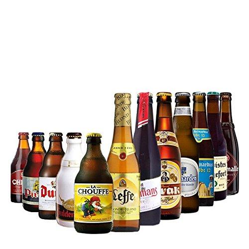 Entdecke - 12 belgische Bierspezialitäten in einem Paket
