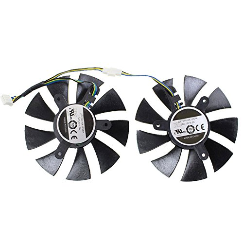 For MSI 450 For Colorful GT730 GT740 For Zotac GTX1070 ZT-P10700G-10M MINI GFY09010E12SPA DC12V PC Graphics Card Cooling Fan