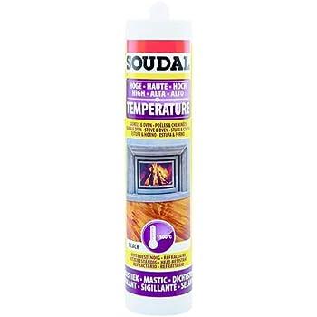 Soudal Outillage 3682 - Masilla refractaria, 300 ml: Amazon.es ...