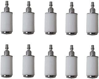 HIPA 10 Pack 530095646 Fuel Filter for Husqvarna 128LD 124 125 128 Series String Trimmer Brush Cuter Pole Pruner Edger