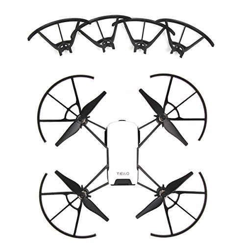 Anbee Tello and Tello EDU Propeller Guards Props Blades Protector, 4pcs/Set