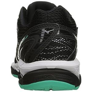 Mizuno Women's Wave Paradox 3 Running Shoe, Black-Electric Green, 6 B US