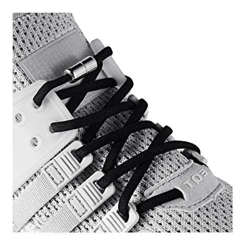 Elastic No Tie Shoe Laces For Adults ,Kids ,Elderly ,System With Elastic Shoe Laces(2 Pairs)