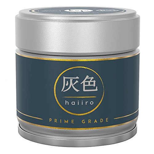 Matcha Haiiro – Handgepflückter Premium Bio-Matcha-Tee aus Japan – Extrafeines Grüntee-Pulver auf Granitsteinmühlen gemahlen – 28 Tage beschattet