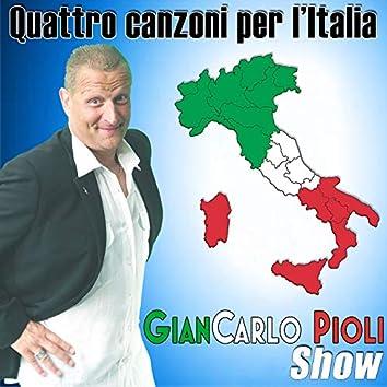 Quattro canzoni per l'Italia (Gp Show)