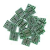 25pcs 8-Pin SOIC/SOP/SSOP to DIP Breakout Board