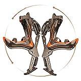 Chaussures de Sport Autruche Bionic Chaussures Chaussures de Sport pour Adultes échasses urbaines Exercice de Fitness Chaussures de Course Charge d'exercice Divertissement à Moins de 200 kg,Orange