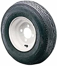Kenda Loadstar 8in. Bias-Ply Trailer Tire and Wheel Assembly - 165/65-8, 5-Hole, Load Range B, Model Number DM1658B-5I