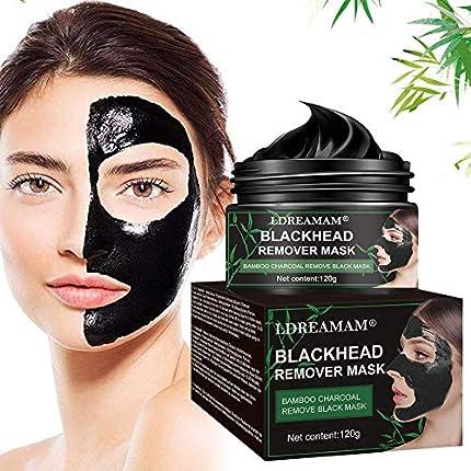 Peel Off Máscara,Mascarilla Exfoliante Facial,Black Mask Máscara,Reduce Poros,Acne,Piel Muerta,Espinillas,Hidratar Piel,Producto Organico Mineral 120g