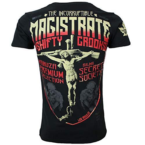 Yakuza Premium Herren T-Shirt 2918 schwarz Größe XL