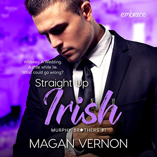 Straight up Irish audiobook cover art