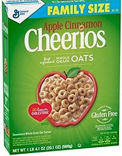 Apple Cinnamon Cheerios Breakfast Cereal - 20.1oz - General Mills アップルシナモン チュリオス ブレックファスト シリアル 569g [並行輸入品]