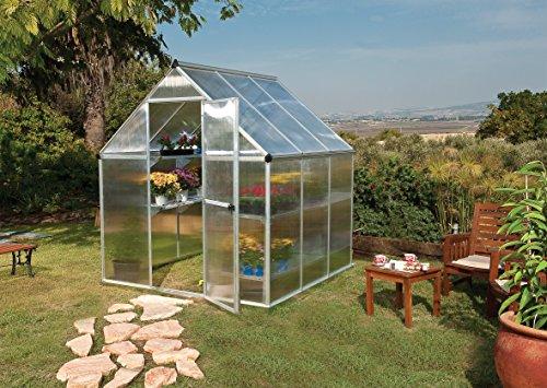 Palram 6 x 10ft Harmony Greenhouse