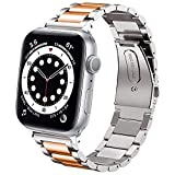 DEALELE Compatible iWatch Band Metal Acero...