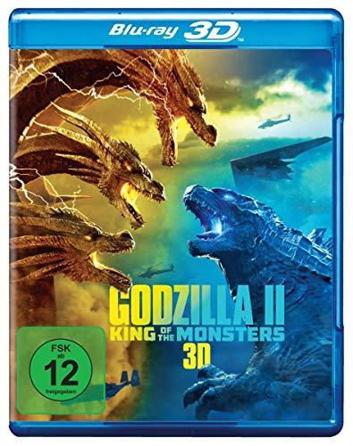 Godzilla II: King of The Monsters-Blu-Ray 3D [Import]