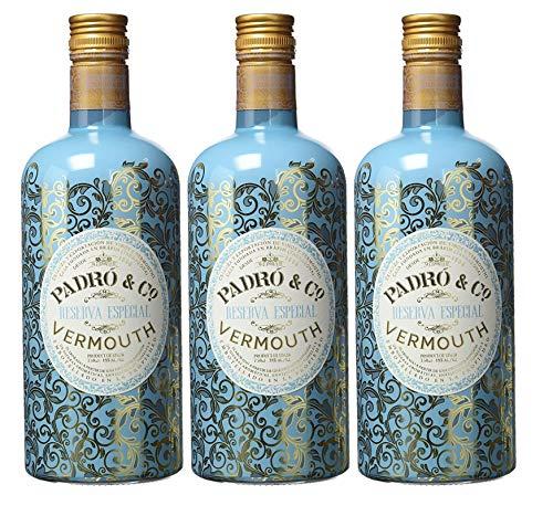 Vermouth Padró & Co Reserva Especial - 3 botellas de 75 cl, Total: 2250 ml
