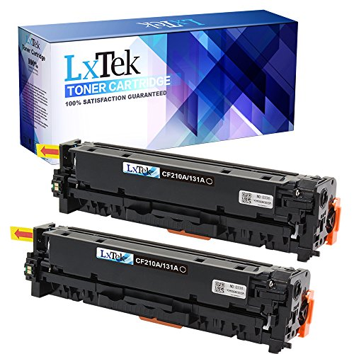 LxTek Compatible Toner Cartridge Replacement Set For 131 (2 Black) 6272B001AA For use in ImageClass LBP7110Cw, ImageClass MF624Cw MF628Cw MF8280Cw Printer