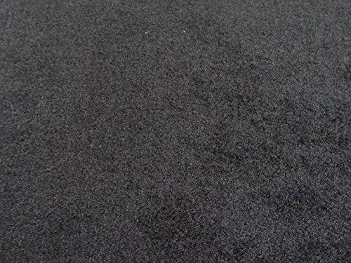 Autoteppich zur Auskleidung, Meterware in beliebiger Größe - Qualität Deluxe schwarz (3m x 2m Breite)